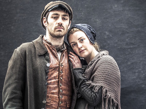 Matthew McNulty as Daniel Bate and Holly Lucas as Susannah Catterall in 'The Mill'