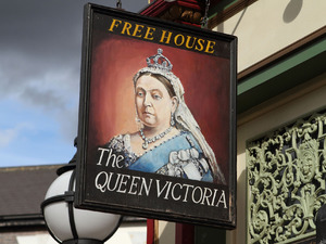 The Queen Vic in EastEnders