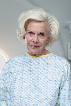 Honor Blackman in Casualty.