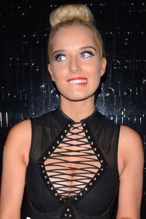 Helen Flanagan at the FHM party, London, Britain