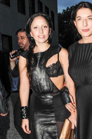 Devil's Heaven: The 20th Annual Watermill Center Summer Benefit, New York, America - 27 Jul 2013 Lady Gaga, Marina Abramovic