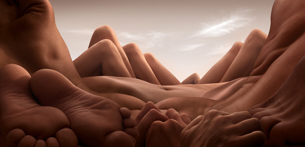 Bodyscapes - Shin Knee Valley