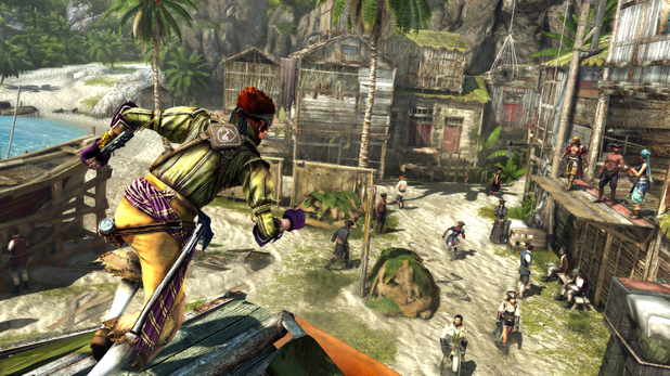 'Assassin's Creed 4: Black Flag' multiplayer screenshot