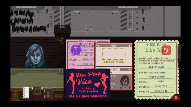 Papers, Please for PC and Mac sees players become an immigration inspector