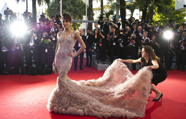 Eva Longoria Opening Ceremony and 'Moonrise Kingdom' film premiere, 65th Cannes Film Festival, France - 16 May 2012
