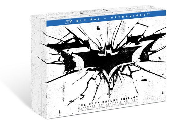 The Dark Knight Trilogy: Ultimate Collector's Edition Blu-ray set