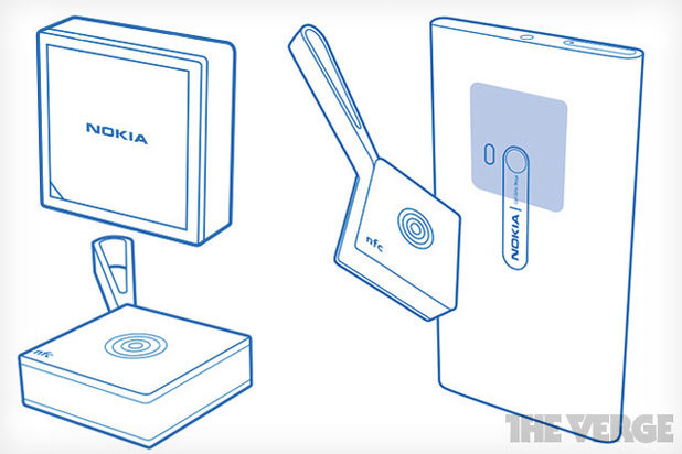 Blueprint for Nokia's Treasure Tag accessory