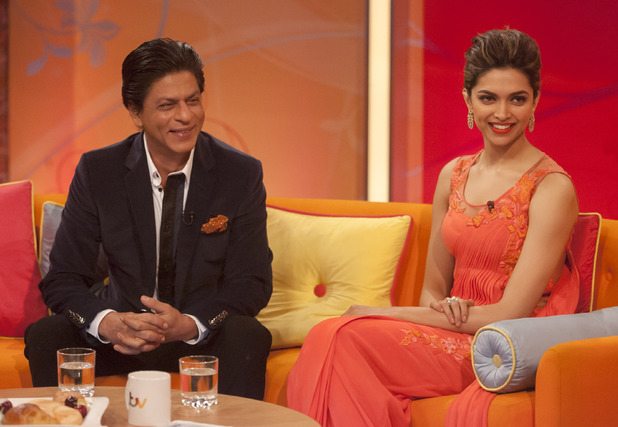 Shah Rukh Khan and Deepika Padukone on 'Lorraine'
