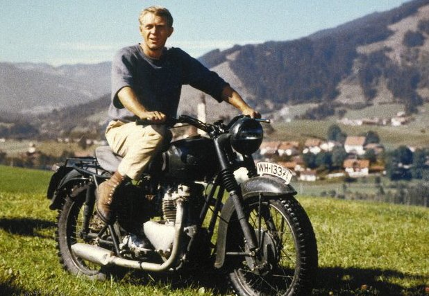 Steve McQueen in 'The Great Escape'