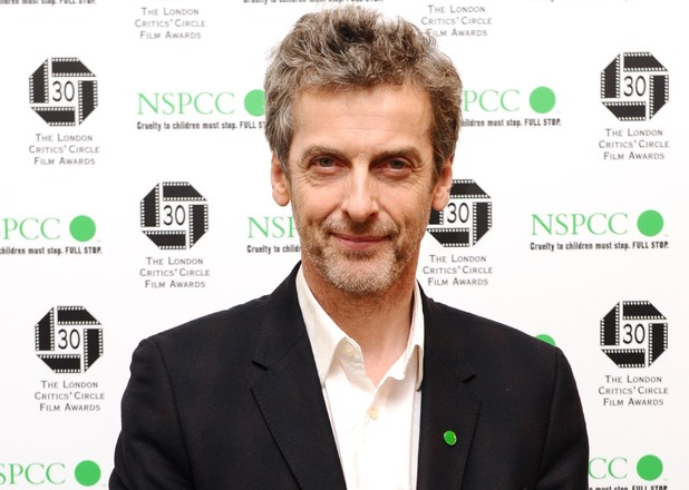 Peter Capaldi arriving for the Orange British Academy Film Awards