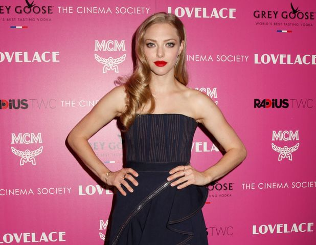 Amanda Seyfried, 'Lovelace' film screening at The Cinema Society, New York, America - 30 Jul 2013
