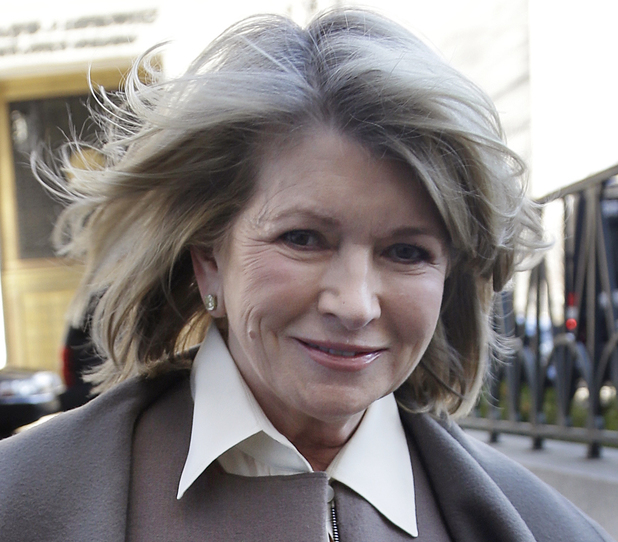 Martha Stewart arrives to court in New York, Tuesday, March 5, 2013. Macy's Inc. is suing the media and merchandising company Stewart founded for breaching an exclusive contract when she signed a deal with J.C. Penney in December 2011 to open shops at most of its stores this spring