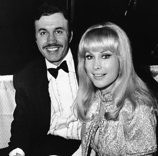 Michael Ansara and Barbara Eden