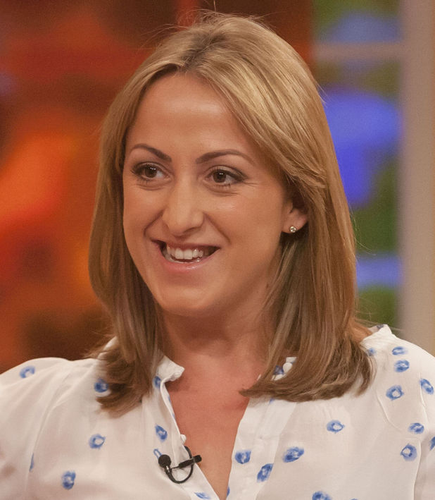 'Daybreak' TV Programme, London, Britain - 31 Jul 2013, important of family meal times Natalie Cassidy 31 Jul 2013