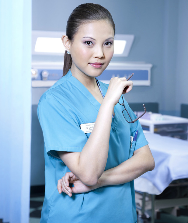 Crystal Yu as Lily Chao in Casualty