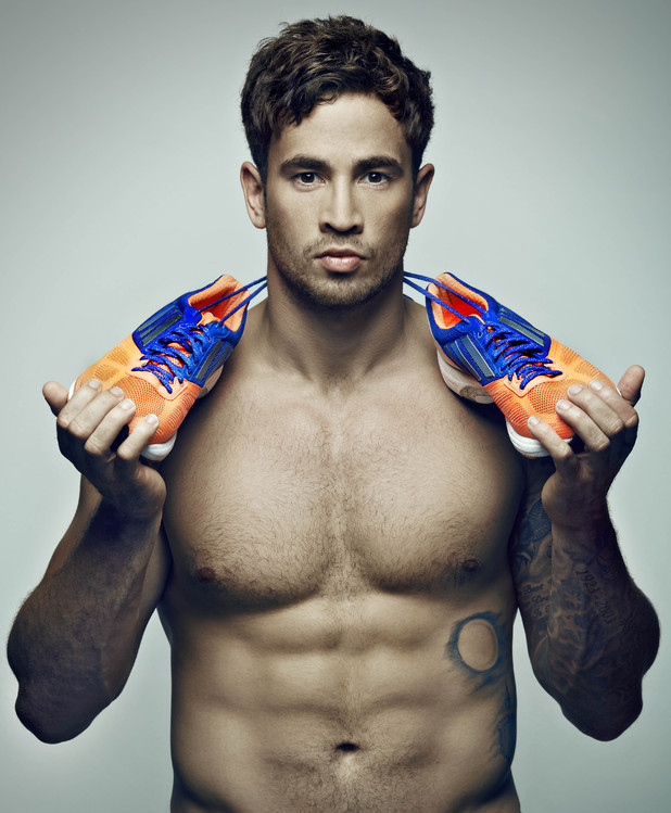 Danny Cipriani gets active for the Shine UK walk