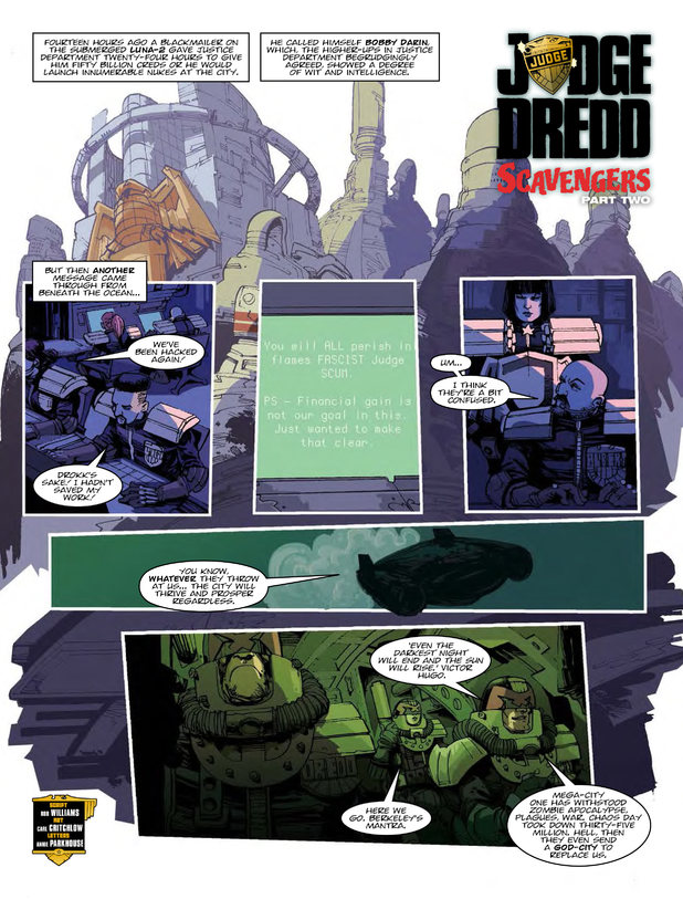 Judge Dredd Scavengers Part Two