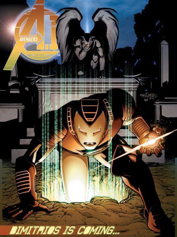 Avengers A.I. #2 cover design