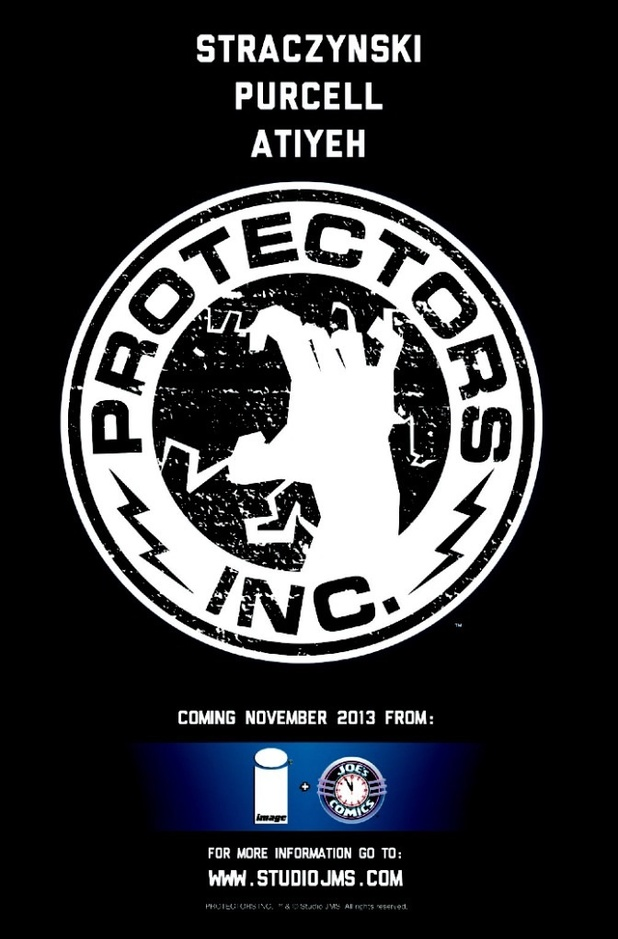 Teaser artwork for Protectors Inc