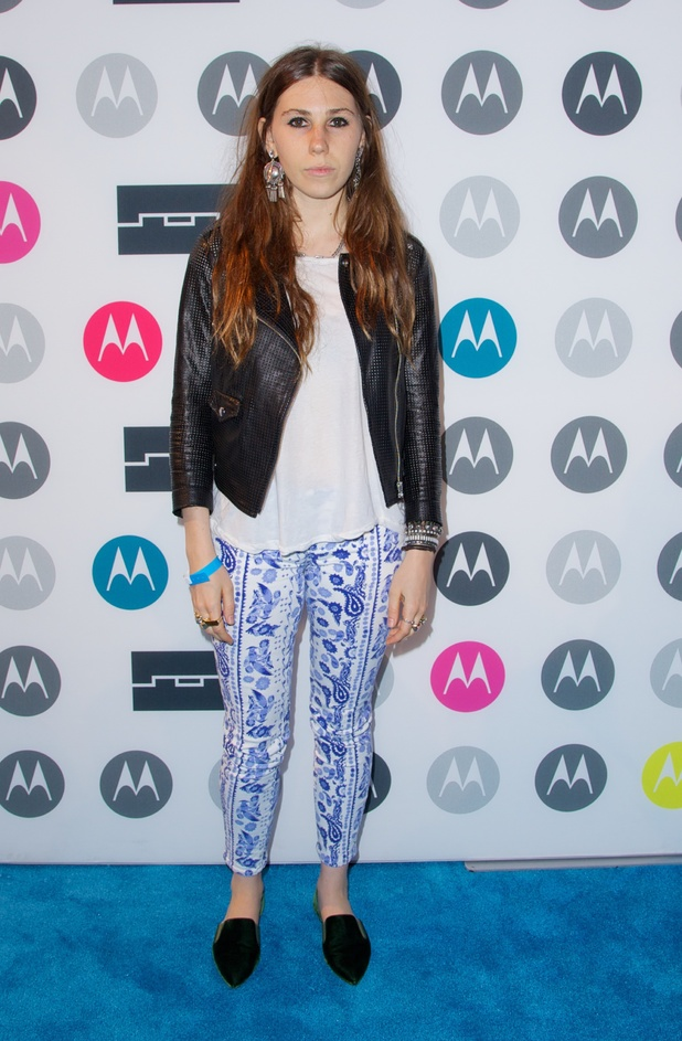 Zosia Mamet, Moto X Launch Party, The launch party for smartphone Motorola Moto X