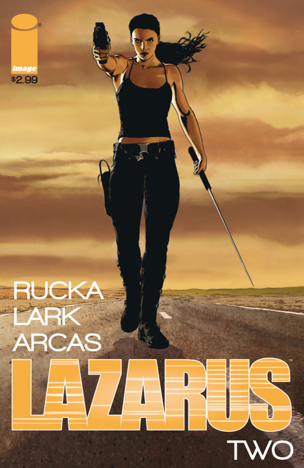 Cover design for Lazarus #2