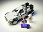 Lego Back to the Future DeLorean hands-on