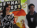 Khan and Padukone were in London for the Chennai Express press event.