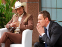 Brad Pitt and Michael Fassbender in The Counselor