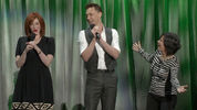 Tom Hiddleston sings The Bare Necessities with Christina Hendricks at Disney's D23 Expo announcemnt for The Pirate Fairy.