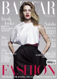 September issue of HARPER'S BAZAAR
