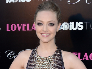 Amanda Seyfried, Lovelace LA premiere, Gucci metallic dress