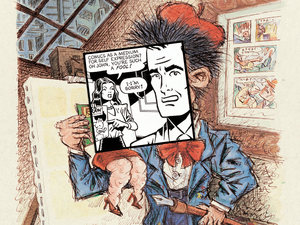 Art Spiegelman's 'Co-Mix'