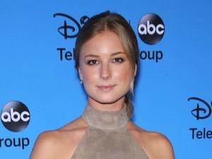 Disney & ABC TCA summer press tour held at Beverly Hilton Hotel - Arrivals People: Emily VanCamp