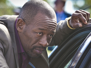 Geddes (Lennie James) in 'Low Winter Sun', Season 1, Episode 1