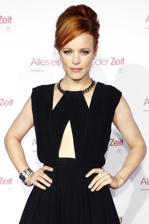 Rachel McAdams attends the 'About Time' premiere in Germany.