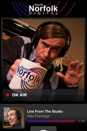 Radio Alan: The Alan Partridge Player