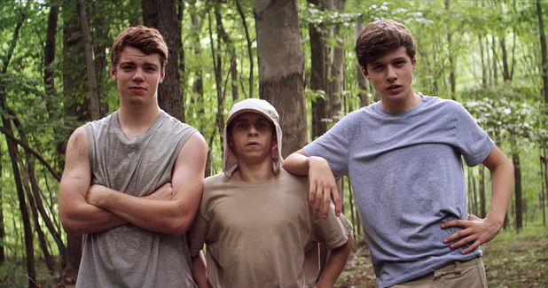 Gabriel Basso, Moises Arias, Nick Robinson in The Kings of Summer