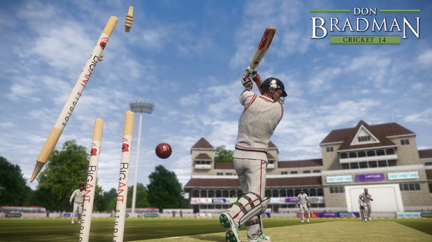 'Don Bradman Cricket 14' screenshot