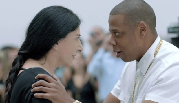 Jay-Z performs new song 'Picasso Baby' at New York's Pace Gallery (Vine still)