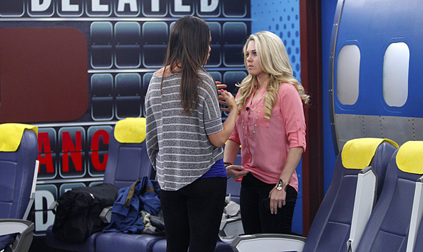 Big Brother S15E19: Amanda and Aaryn