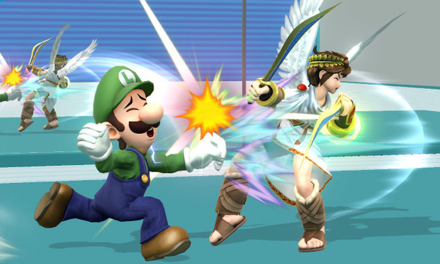 Luigi in 'Super Smash Bros' for Wii U