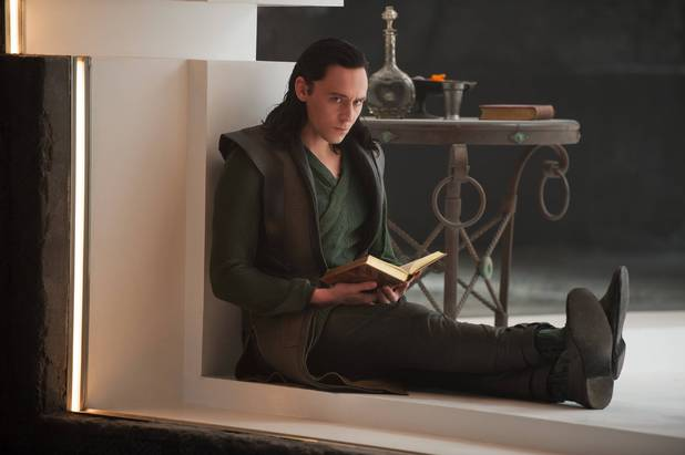Tom Hiddleston as Loki in 'Thor: The Dark World'