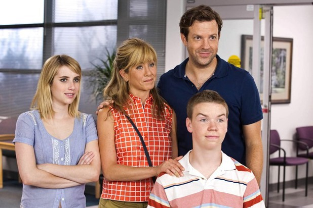 Emma Roberts, Jennifer Aniston, Will Poulter, Jason Sudeikis in We're the Millers