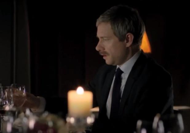 John Watson's moustache of mystery in 'Sherlock' series 3