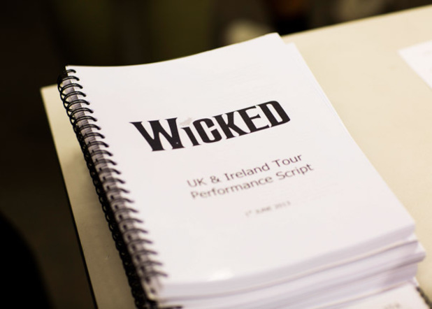 Behind the scenes at a 'Wicked' rehearsal