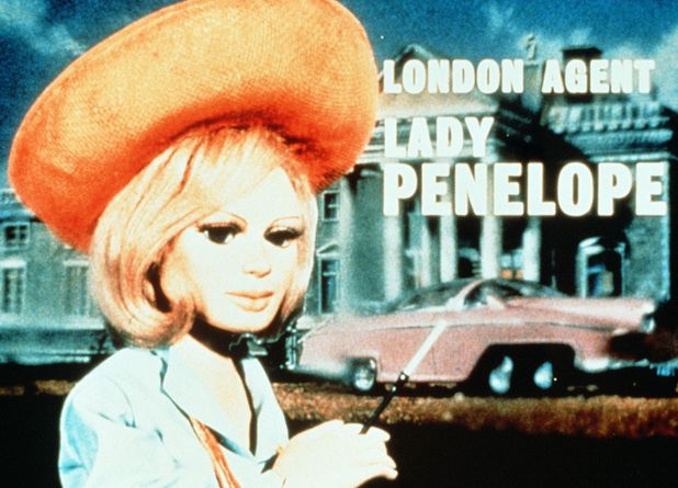 Lady Penelope in 'Thunderbirds'