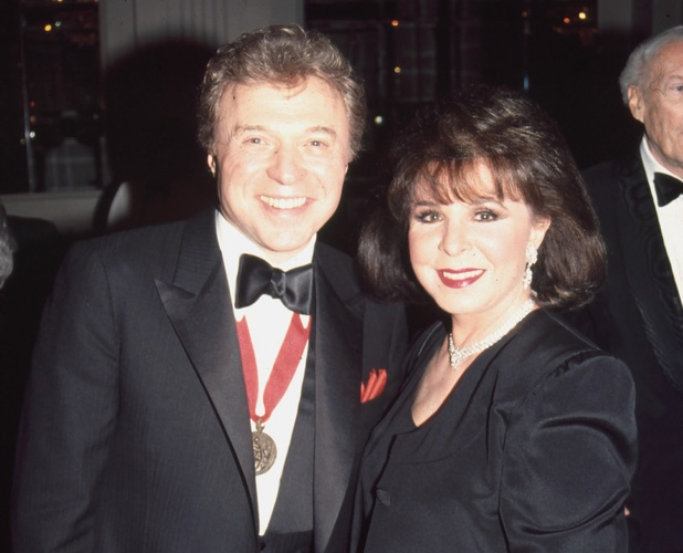 Eydie Gorme and husband Steve Lawrence