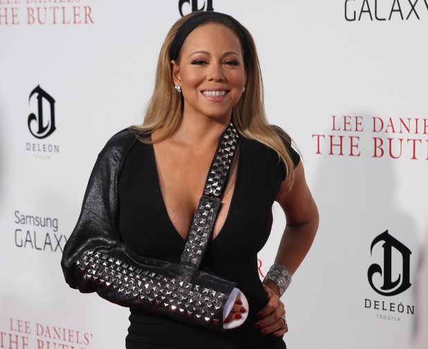 Mariah Carey, sling, New York Premiere of Lee Daniels' The Butler
