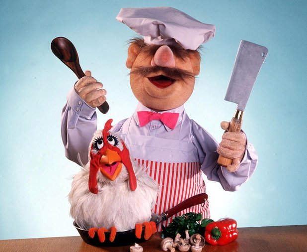 'THE MUPPET SHOW' TV - 1982SWEDISH CHEF