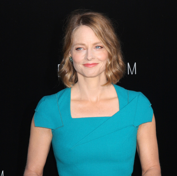 "Jodie Foster, ""Elysium"" - Los Angeles Premiere, Roland Mouret dress"